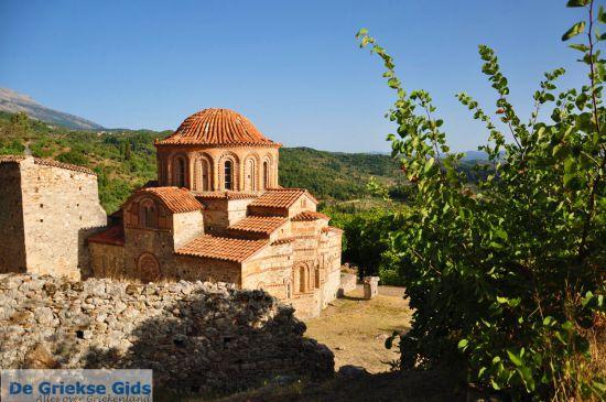 Byzantijnse kerk in Mystras